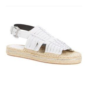REBECCA MINKOFF platform sandal